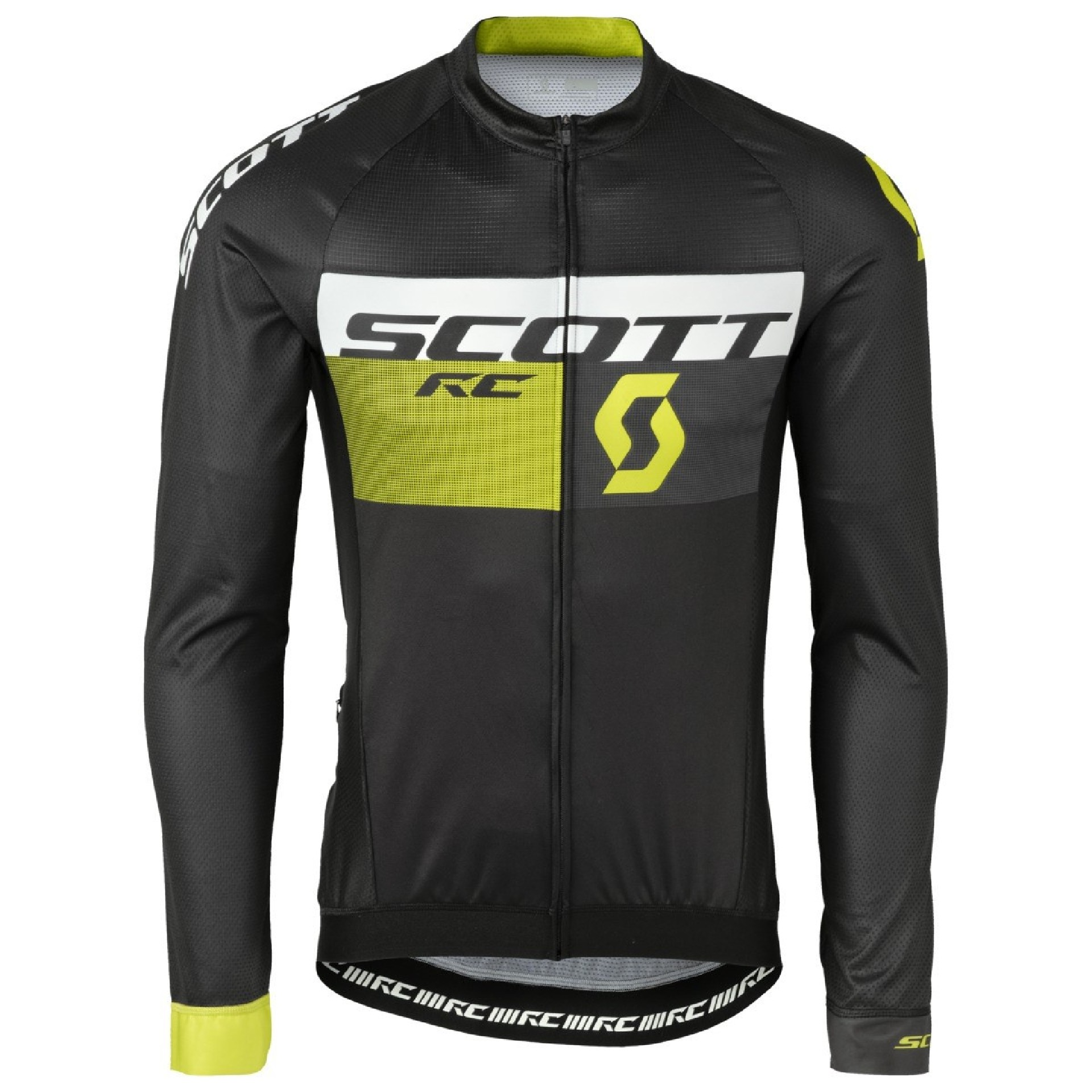 SCOTT RC PRO TEC black/sulphur yellow