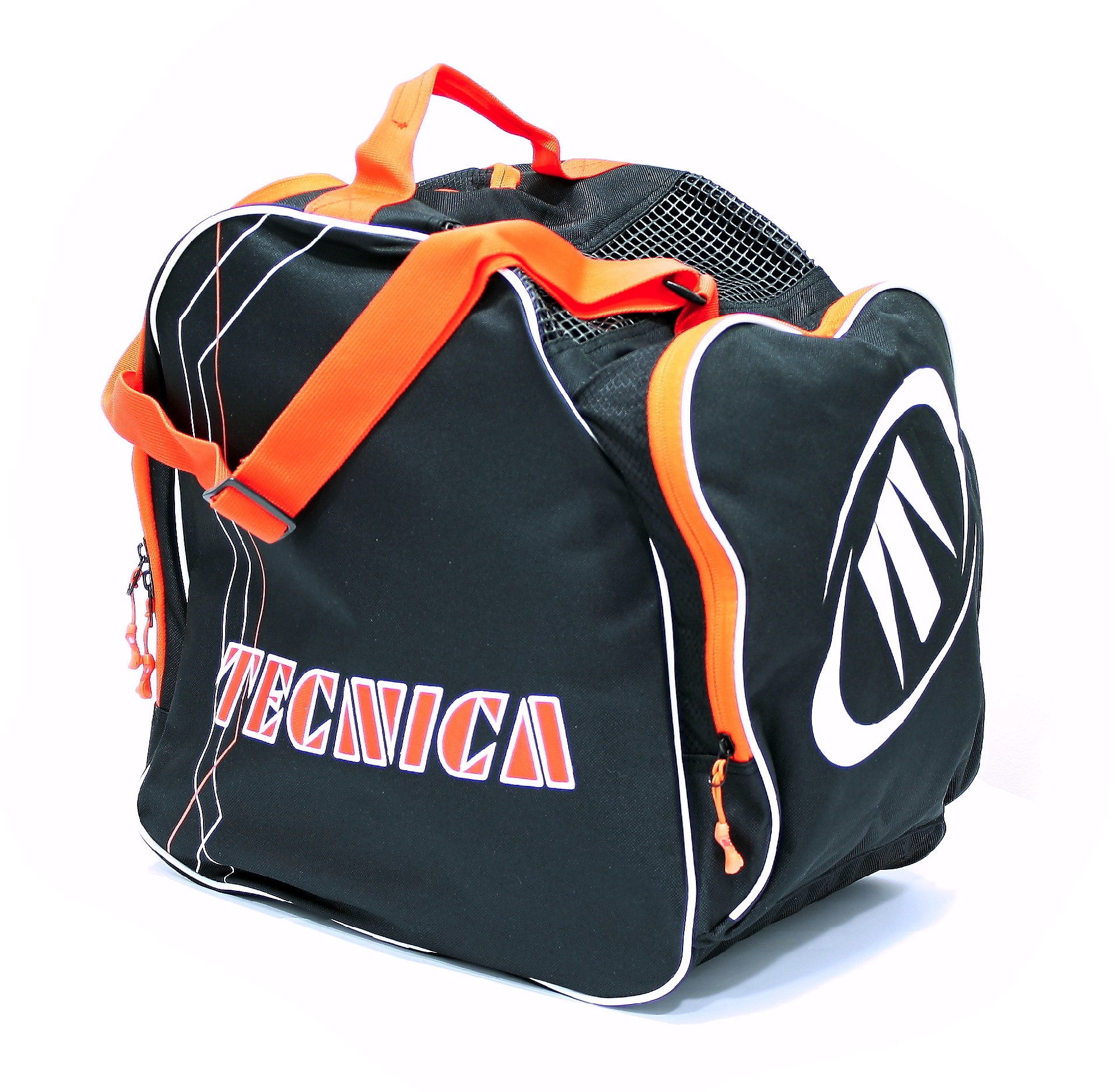 TECNICA Skiboot bag Premium, black/orange